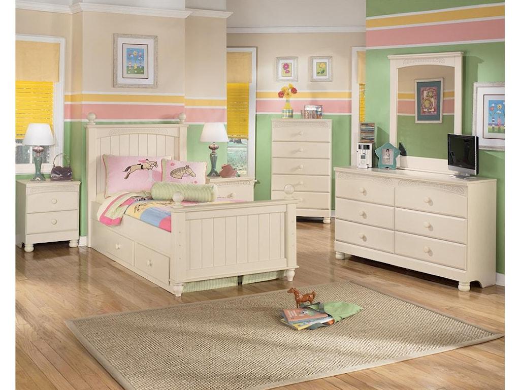 Shown in Bedroom Set