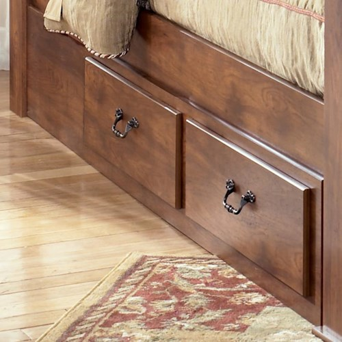 Signature Design by Ashley Pine Ridge Underbed Storage