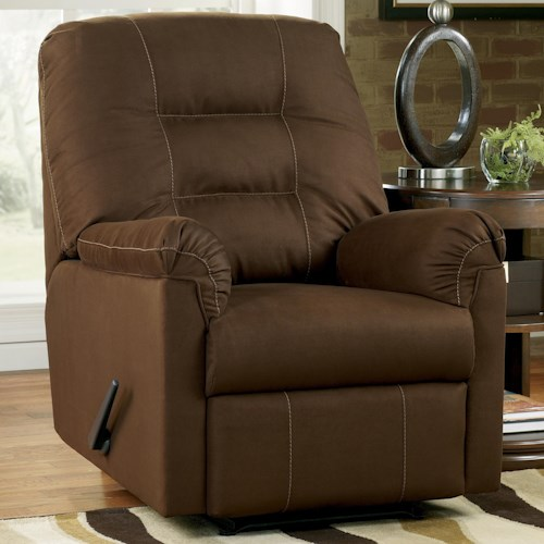 Signature Design by Ashley Harold Point Zero Wall Recliner with Pillow Arms
