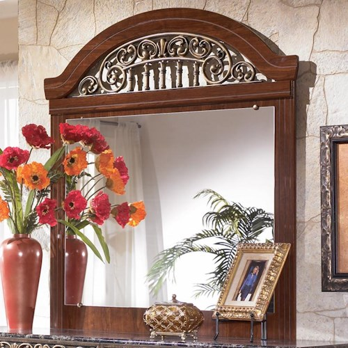 Signature Design by Ashley Fairbrooks Estate Dresser Mirror