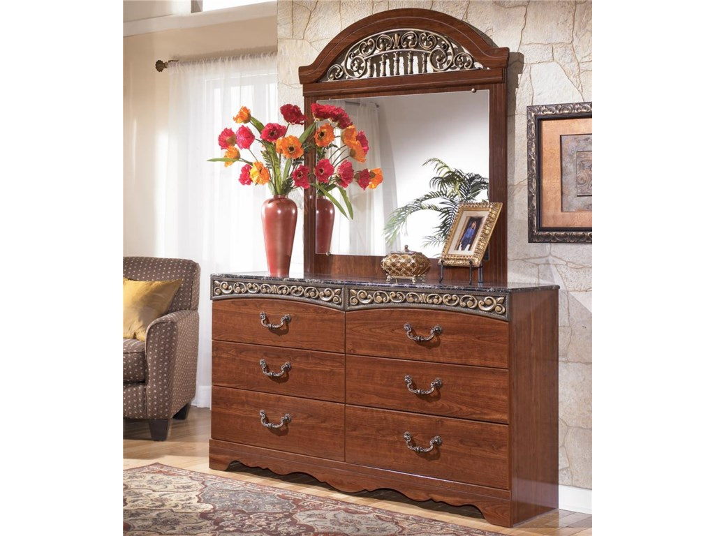 Shown with 6 Drawer Dresser