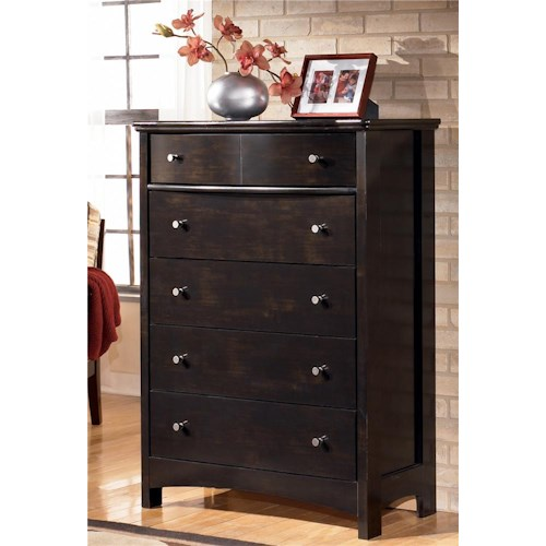 Signature Design by Ashley Harmony Five Drawer Chest