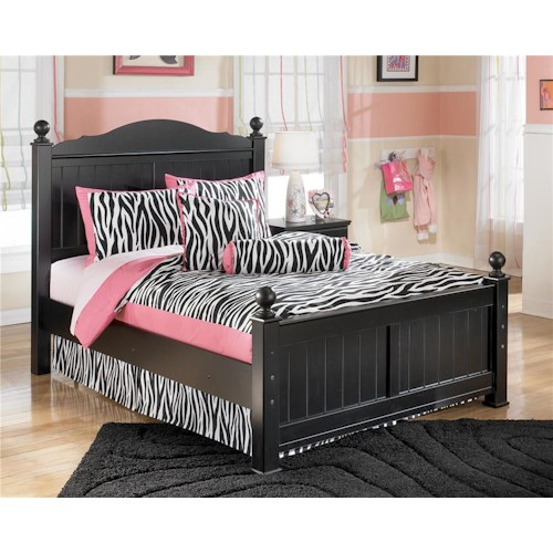 Signature Design by Ashley Jordan Full Poster Headboard and Footboard Bed