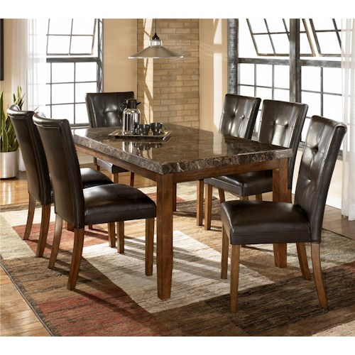 Signature Design by Ashley Lacey 7-Piece Dining Table & Chair Set