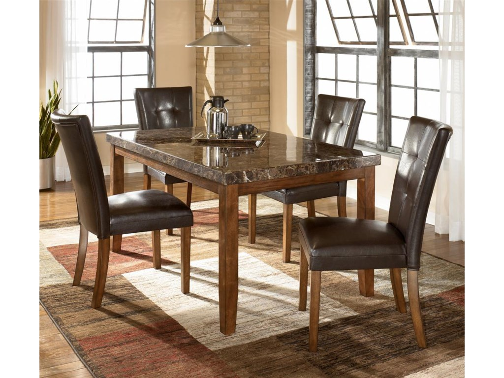 Shown as part of 5-piece table set