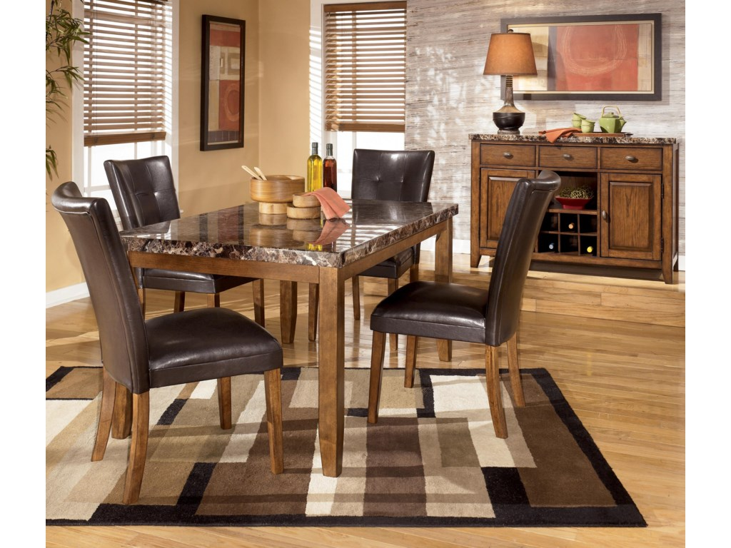 Shown with Rectangular Dining Table and Side Chairs