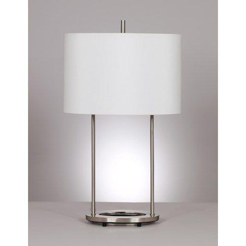 Signature Design by Ashley Lamps - Metro Modern Set of 2 Maisie Table Lamps