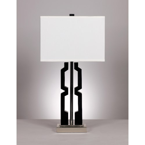Signature Design by Ashley Lamps - Metro Modern Set of 2 Mitzi Table Lamps