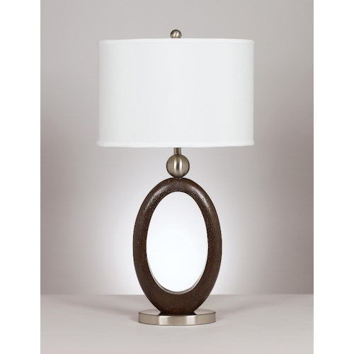 Signature Design by Ashley Lamps - Metro Modern Set of 2 Meckenzie Table Lamps
