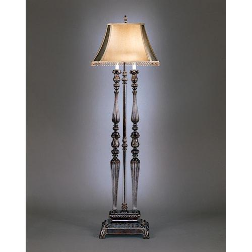 Signature Design by Ashley Lamps - Traditional Classics Desana Floor Lamp