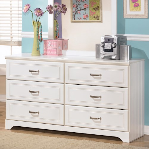 Signature Design by Ashley Lulu 6 Drawer Dresser