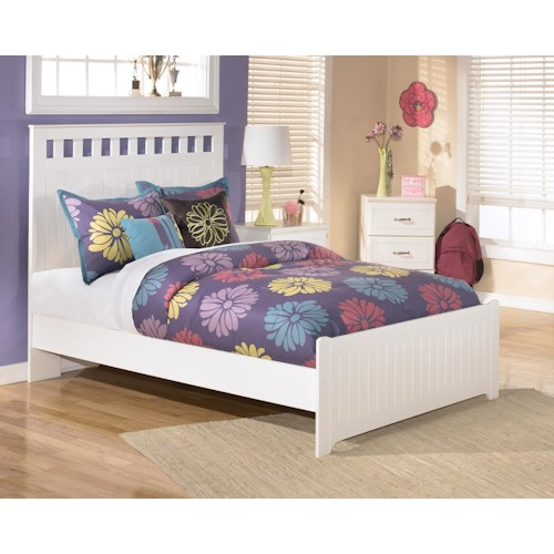 Signature Design by Ashley Lulu Full Panel Headboard and Footboard Bed