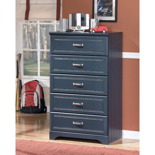 Signature Design by Ashley Leo 5 Drawer Chest