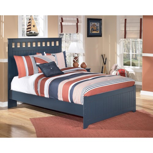 Signature Design by Ashley Leo Full Panel Headboard and Footboard Bed