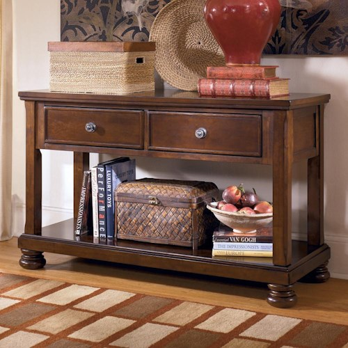 Signature Design by Ashley Porter Sofa Table/Media Console