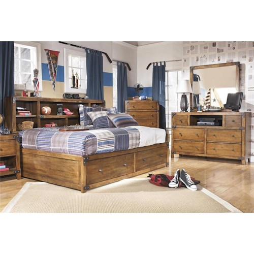 Signature Design by Ashley Cole 3-Piece Full Storage Bedroom Set
