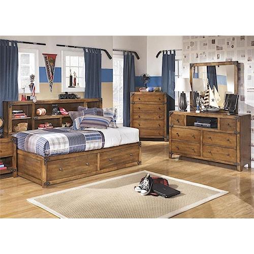 Signature Design by Ashley Cole 3-Piece Twin Storage Bedroom Set