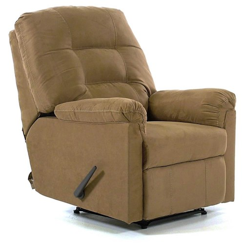 Signature Design by Ashley Cocoa Wall Recliner with Pillow Arms
