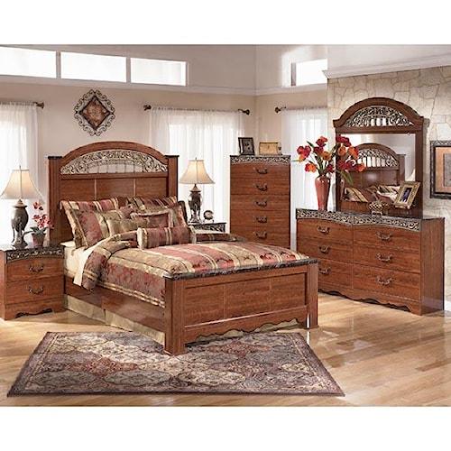 Signature Design by Ashley Brookfield 4 Piece Queen Bedroom Set