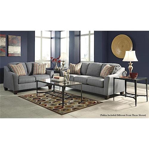 Signature Design by Ashley Talia 5-Piece Living Room Set