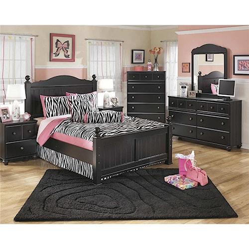 Signature Design by Ashley Jordan 3-Piece Full Bedroom Set