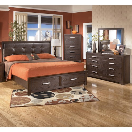 Signature Design by Ashley Aleydis 4 Piece King Bedroom Group