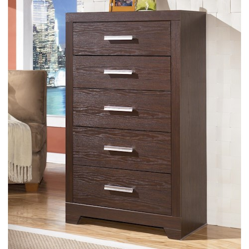 Signature Design by Ashley Furniture Aleydis 5-Drawer Chest