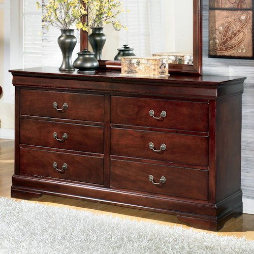 Signature Design by Ashley Furniture Alisdair Traditional Dresser with 6 Drawers