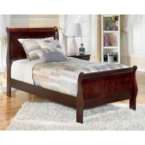 Signature Design by Ashley Alisdair Twin Sleigh Bed