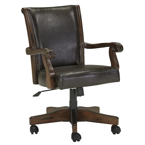 Signature Design by Ashley Alyssa Traditional Home Office Swivel Desk Chair