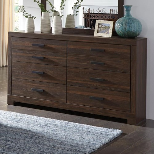 Signature Design by Ashley Arkaline Modern Rustic Dresser