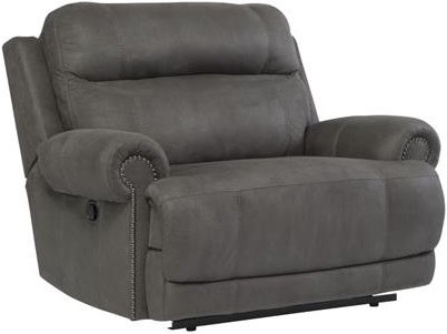 Wide Power Recliner Shown