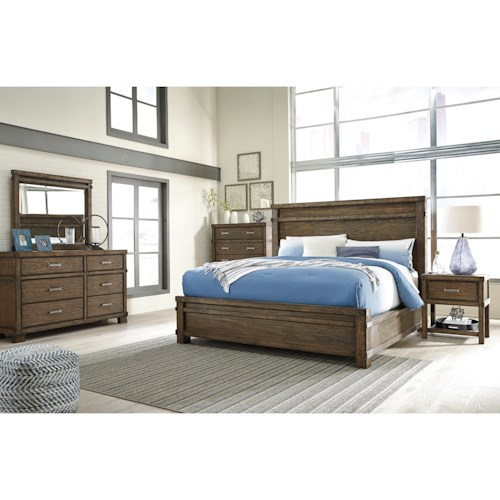 Signature Design by Ashley Leystone King Bedroom Group
