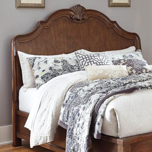 Signature Design by Ashley Balinder Transitional Queen Sleigh Headboard