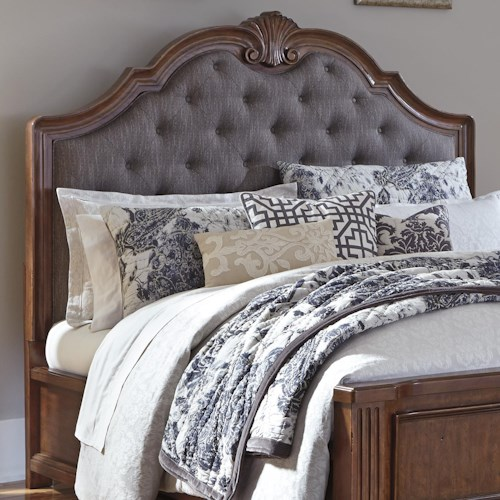 Signature Design by Ashley Balinder Transitional King/California King Upholstered Panel Headboard