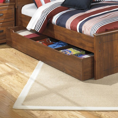 Signature Design by Ashley Barchan Trundle unit with a slat roll