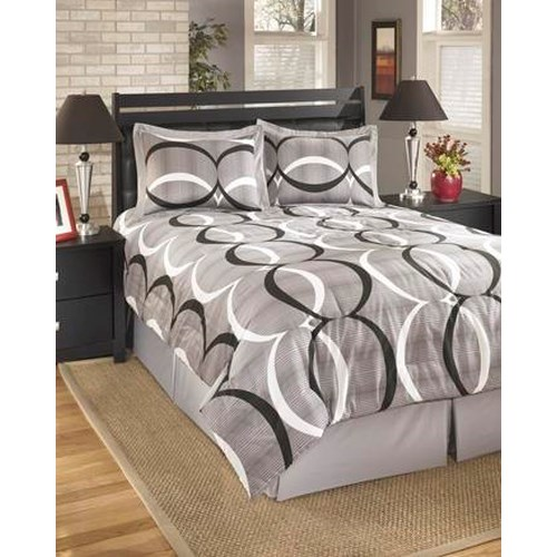 Signature Design by Ashley Bedding Sets Queen Primo Alloy Top of Bed Set