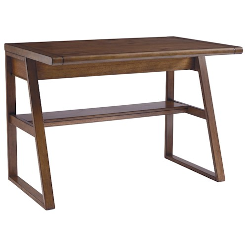 Signature Design by Ashley Birnalla Table Desk with Lift Top