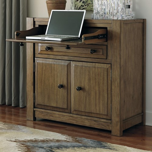 Signature Design by Ashley Birnalla Secretary Desk with Desk Drawer & File Drawer