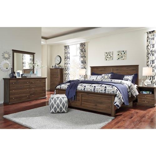 Signature Design by Ashley Burminson King Bedroom Group