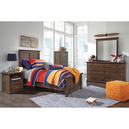 Signature Design by Ashley Burminson Twin Bedroom Group