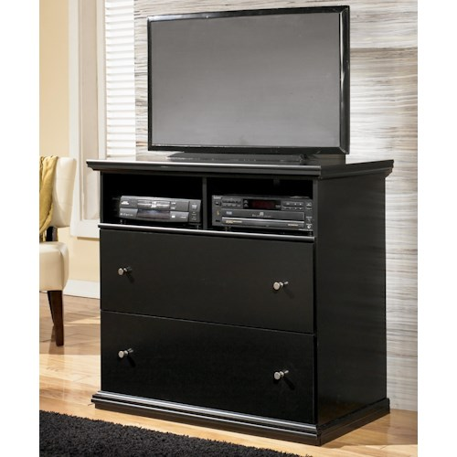 Signature Design by Ashley Maribel Casual 2-Drawer and 2 Shelf Media Chest