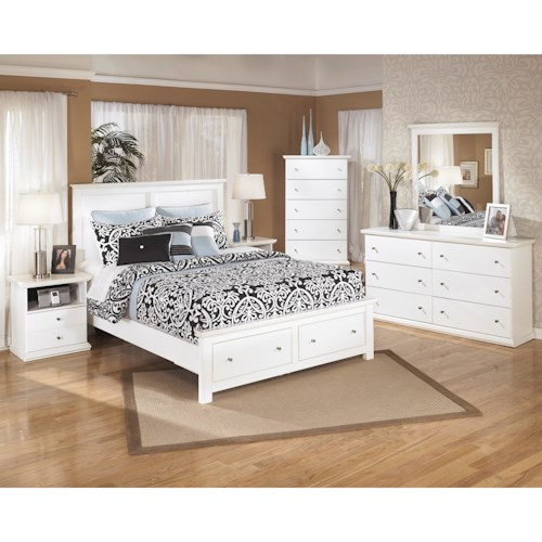 Signature Design by Ashley Bostwick Shoals Queen Bedroom Group