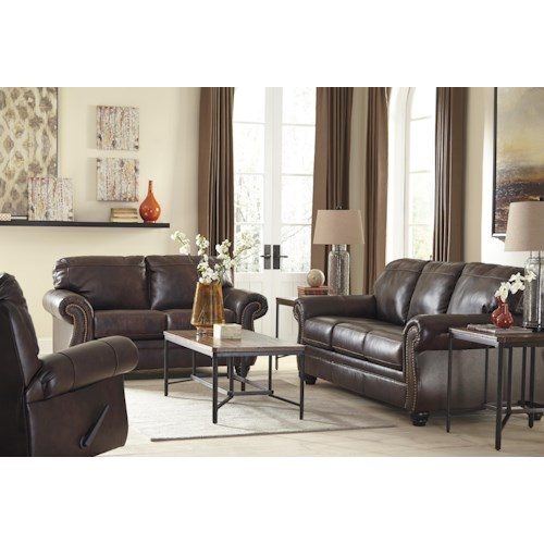 Signature Design by Ashley Bristan Stationary Living Room Group