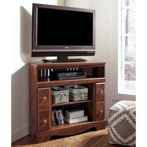 Signature Design by Ashley Brittberg Corner TV Stand