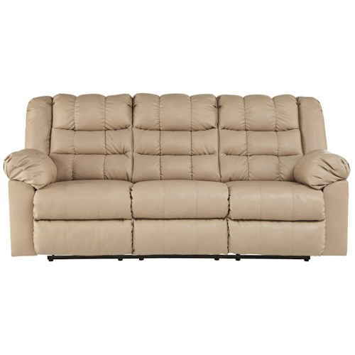 Signature Design by Ashley Brolayne DuraBlend® Casual Contemporary Reclining Sofa