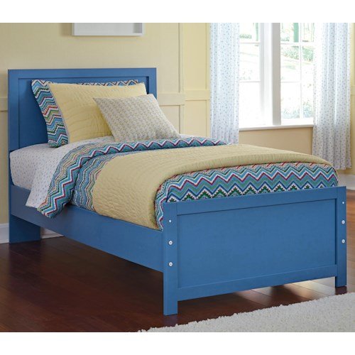 Signature Design by Ashley Bronilly Contemporary Twin Panel Bed