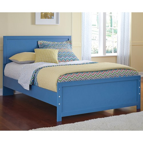 Signature Design by Ashley Bronilly Contemporary Full Panel Bed