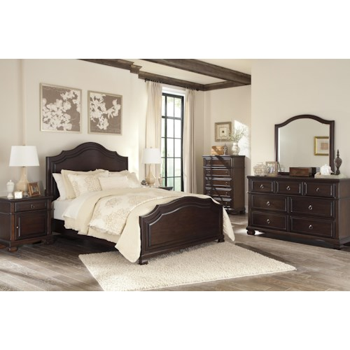 Signature Design by Ashley Brulind King Bedroom Group