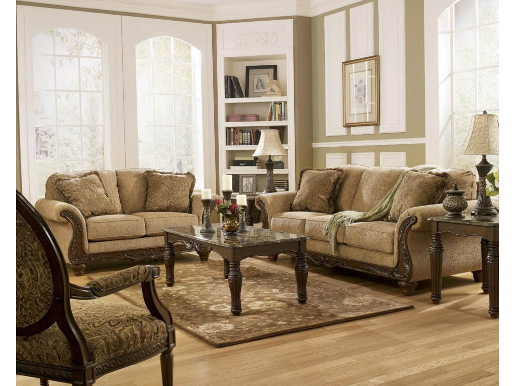 Shown with Accent Chair and Loveseat